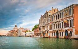 Großartiger Kanal, Venedig, Italien Stockfotos