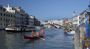 Großartiger Kanal - Venedig - Italien Stockfotos