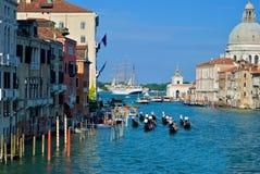 Großartiger Kanal in Venedig, Italien Stockfoto