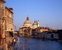 Großartiger Kanal, Venedig, Italien. Lizenzfreie Stockfotos