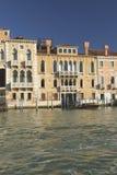Großartiger Kanal in Venedig (Italien) stockbilder