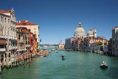 Großartiger Kanal in Venedig, Italien stockfotos