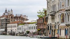 Großartiger Kanal in Venedig Italien Lizenzfreies Stockfoto
