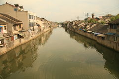 Großartiger Kanal Wuxi stockbild