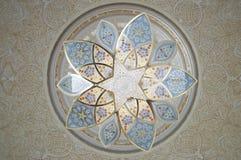 Großartiger Moscheinnenraum Lizenzfreies Stockfoto