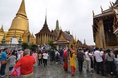 Großartiger Palast Bangkok Stockfotos