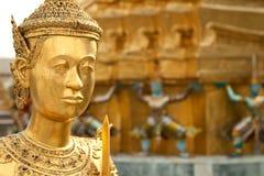 Großartiger Palast Bangkok der Statuen Lizenzfreie Stockfotos