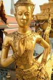 Großartiger Palast Bangkok der Statuen Stockfoto