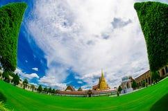 Großartiger Palast, Bangkok, Thailand, Türspion lizenzfreies stockfoto