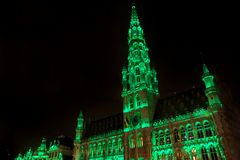 Großartiger Palast Brüssel Belgien Stockbilder