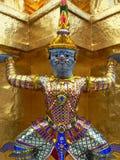 Großartiger Palast-Dämon, Bangkok lizenzfreies stockbild