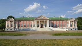 Großartiger Palast, der Zustand Kuskovo Lizenzfreie Stockfotos