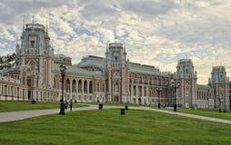 Großartiger Palast Tsaritsyno Stockfotografie