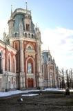 Großartiger Palast in Tsaritsyno Stockbild