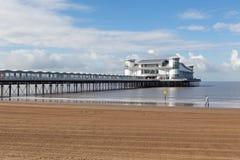 Großartiger Pier, Weston-Super-Stute Lizenzfreies Stockbild