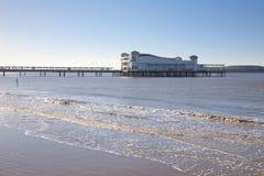 Großartiger Pier, Weston Superstute, Somerset Stockfoto