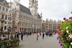 Großartiger Platz in Brüssel Stockfotos