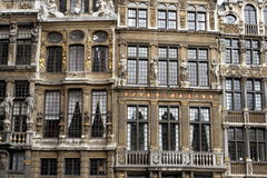 Großartiger Platz in Brüssel Lizenzfreies Stockbild