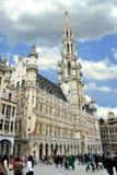 Großartiger Platz und Grote Markt in Brüssel, Stockfotos