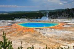 Großartiger prismatischer Frühling, Yellowstone Stockfotografie