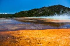 Großartiger prismatischer Frühling, Yellowstone Lizenzfreies Stockbild