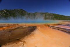 Großartiger prismatischer Frühling in Yellowstone Nationalpark, USA Lizenzfreie Stockfotos