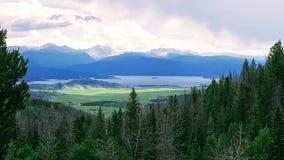 Großartiger See, Granby lizenzfreies stockfoto