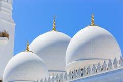 Großartiger Shaiekh Zayed Mosque - Abu Dhabi Stockfoto