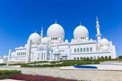 Großartiger Shaiekh Zayed Mosque - Abu Dhabi Stockfotos