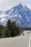 Großartiger Teton Nationalpark Lizenzfreies Stockfoto