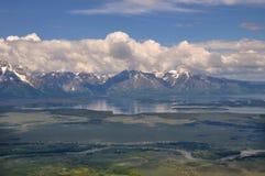 Großartiger Teton Nationalpark stockfotos