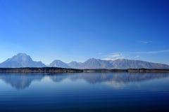 Großartiger Teton Nationalpark im Herbst Lizenzfreie Stockbilder