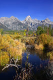 Großartiger Tetons Nationalpark Stockbilder