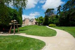 Großartiges französisches Schloss Lizenzfreies Stockbild