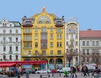 Großartiges Hotel Evropa und Meran-Hotel Stockfotos