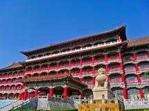 Großartiges Hotel Kaohsiung an einem sonnigen Tag in Kaohsiung, Taiwan Lizenzfreies Stockfoto