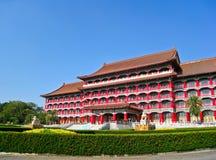 Großartiges Hotel Kaohsiung an einem sonnigen Tag in Kaohsiung, Taiwan Lizenzfreie Stockbilder