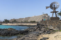 Großartiges Hotel Teguise Playa Stockfotografie