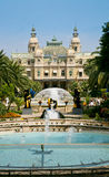 Großartiges Kasino in Monte Carlo Stockbilder