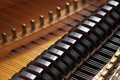 Großartiges Klavier Stockfotografie