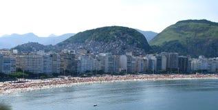 Großartiges Panorama von Rio de Janeiro Lizenzfreie Stockfotos