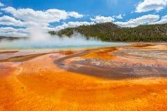 Großartiges prismatisches Becken Yellowstone Lizenzfreie Stockbilder