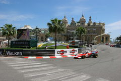 Großartiges Prix Historique Monte Carlo Lizenzfreies Stockfoto