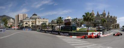 Großartiges Prix Historique Monte Carlo Stockbilder