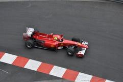 Großartiges Prix Monaco 2010, Ferrari von Felipe Massa Stockbild