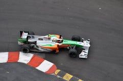 Großartiges Prix Monaco 2010, Kraft Indien von Liuzzi Stockbilder