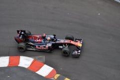 Großartiges Prix Monaco 2010, Red Bull von Buemi Lizenzfreies Stockbild
