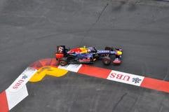 Großartiges Prix Monaco 2012 - Red Bull der Markierung Webber Stockbilder