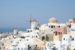 Großartiges Santorini. Stockfotografie