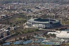 Großartiges Stadion, Melbourne Stockbild